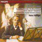 Strauss: Serenade Op 7, Suite Op 4 / Heinz Holliger