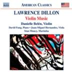 Lawrence Dillon: Violin Music
