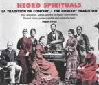 Negro Spirituals: The Concert Tradition