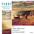 Parry: Symphony no 1, Concertstück / Bamert, London PO