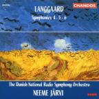 Langgaard: Symphonies Nos. 4, 5, 6