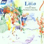 Lalo: The 3 Piano Trios / The Barbican Piano Trio