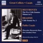 Beethoven / Brahms: Cello Sonatas (Casals) (1930-1939)