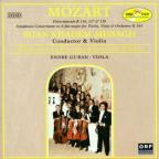 Mozart: Divertimenti, Symphonie Concertante / Khadem-Missagh