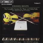 Brahms: The Complete Sonatas for Piano and Violin/Viola, Vol. 2