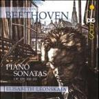 Beethoven: Piano Sonatas, Op. 109, 110 &amp; 111