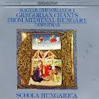 Gregorian Chants From Hungary - Vol. 1 Christmas