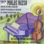 Rózsa: Vol 5, Piano & Cello Concertos / Chen, Smith, Sedares