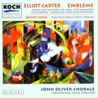 Carter: Emblems, etc / Oliver, The John Oliver Chorale