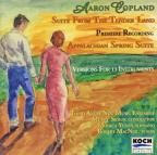 Copland: Suite From The Tender Land; Appalachian Spring Suite