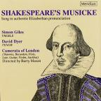 Shakespeare's Musicke