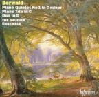 Berwald: Piano Quintet no 1, Trio, Duo / Gaudier Ensemble