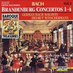 Baroque Treasuries Vol 2 - Bach: Brandenburg Concertos 1-4