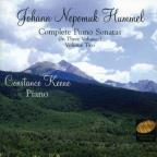 Johann Nepomuk Hummel: Complete Piano Sonatas, Vol. 2