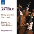 Arnold: String Quartets no 1 & 2