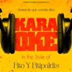 Antes De Que Cuente Diez (In The Style Of Fito Y Fitipaldis) [karaoke Version] - Single