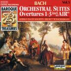 Baroque Treasuries Vol 5 - Bach: Orchestral Suites Nos 1-3
