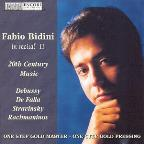 Fabio Bidini in Recital II - 20th Century Music