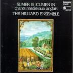 Sumer Is Icumen In- Medieval English Songs/Hilliard Ensemble