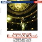 Brahms: Hungarian Dances / Otmar Suitner