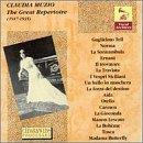 Vocal Archives - Claudia Muzio - The Great Repertoire