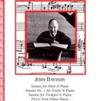 John Davison: Sonata for Horn & Piano; Sonata No. 1 for Violin & Piano
