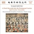 Takemitsu: A Flock Descends into the Pentagonal Garden