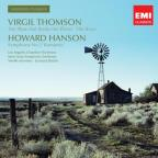 "Virgil Thomson: The Plow that Broke the Plains; The River; Howard Hanson: Symphony No. 2 ""Romantic"""