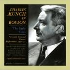 Munch In Boston: The Early Years