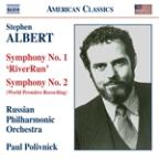 Stephen Albert: Symphonies Nos. 1 &amp; 2