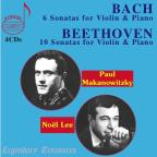 Beethoven: 10 Sonatas for Violin &amp; Piano; Bach: 6 Sonatas for Violin &amp; Piano