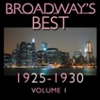 Broadway's Best 1925 - 1930 Vol.1