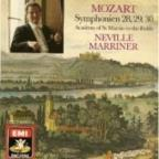 Angel - Mozart: Symphony no  28, 29, 30 / Marriner, ASMF