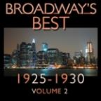 Broadway's Best 1925 - 1930 Vol.2