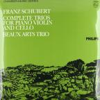 Franz Schubert: Complete Trios for Piano, Violin and Cello