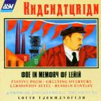 Khachaturian: Ode In Memory Of Lenin