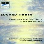 Tubin: Symphony no 11, Elegy for strings / Volmer