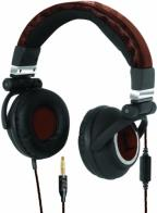 U. Lethal DJ Large Headphones Brown & B>
