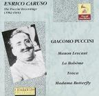 Caruso: Puccini Recordings, 1902-16