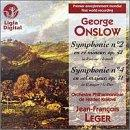 Onslow: Symphonies no 2 and 4 / Jean-Louis Leger, et al