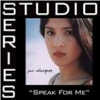 Speak For Me [Studio Series Performance Track]