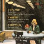 April Fredrick sings Copland, Barber, Gershwin
