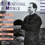 Ted Rosenthal At Maybeck: Maybeck Recital Hall Series Volume 38
