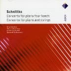Schnittke: Concertos for Piano Four Hands; Concerto for Piano & Strings