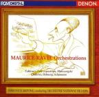 Ravel: Orchestrations / Krivine, Orchestre National de Lyon