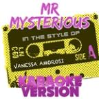 Mr Mysterious (In The Style Of Vanessa Amorosi) [karaoke Version] - Single