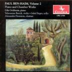 Paul Ben - Haim, Vol. 2: Piano and Chamber Works