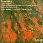 Schnittke: Piano Quintet; Three Madrigals; Serenade; String Trio