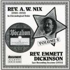 Rev. A.W. Nix & Emmett Dickinson, Vol. 2: 1928 - 1931