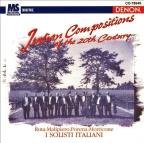 Italian Compositions of the 20th Century/ I Solisti Italiani
